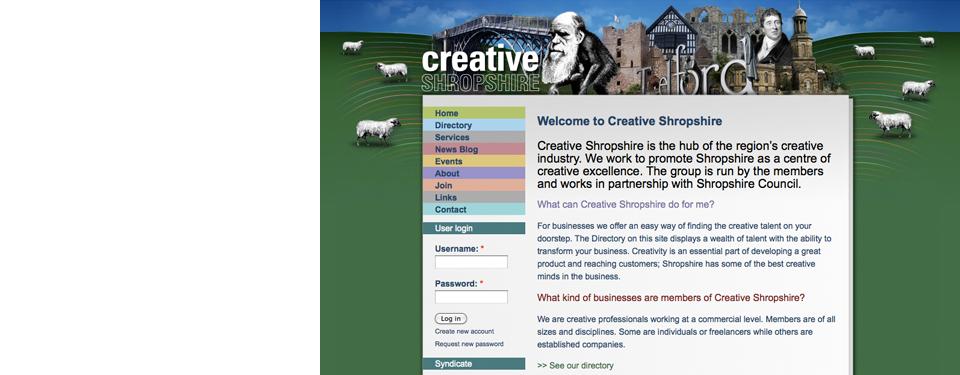 Creative Shropshire