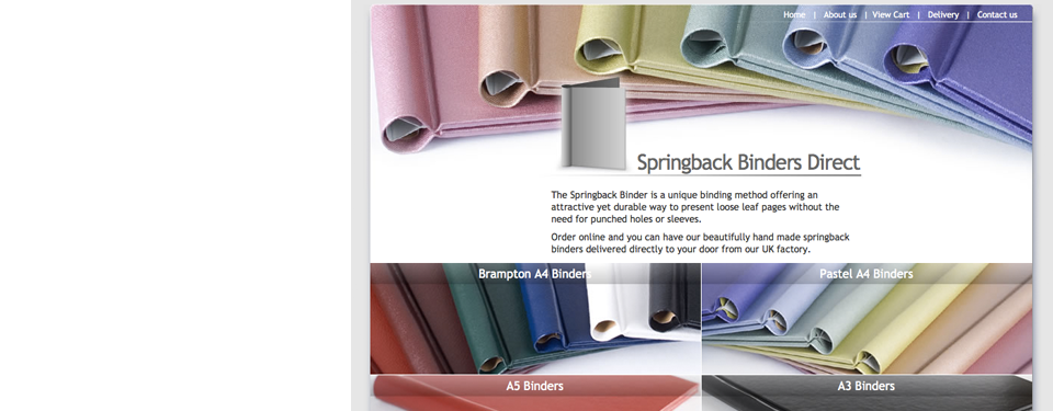 Springback Binders Direct